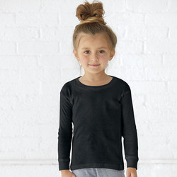 Rabbit Skins 201Z - Toddler Baby Rib Pajama Top