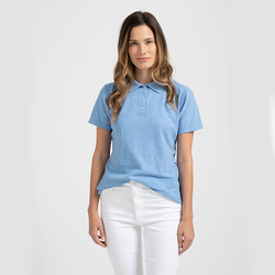 Tultex 401 - Ladies' Sport Polo  (Light Blue Heather)