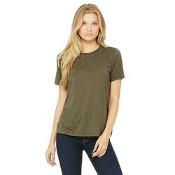 Bella+Canvas 6413 - Women's Relaxed Triblend S/S Tee