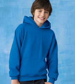 Hanes Youth 7.8 oz. EcoSmart® 50/50 Pullover Hood