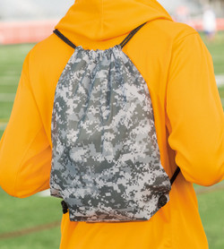 8881 LIBERTY BAGS DRAWSTRING BACKPACK  (Digital Camo)