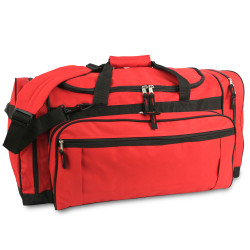 3906 LIBERTY BAGS EXPLORER LARGE DUFFEL BAG  (Red)