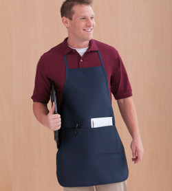 9328 LIBERTY BAGS HEATHER LONG APRON