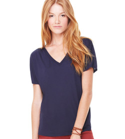 8815 BELLA + CANVAS WOMEN'S SLOUCHY V-NECK TEE