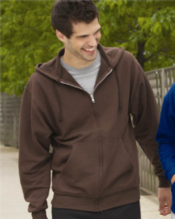 Jerzees 993MR - Unisex NuBlend® Full-Zip Hooded Sweatshirt