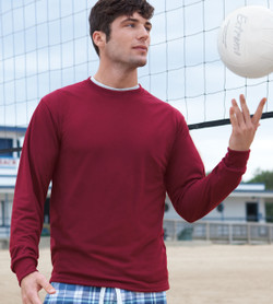 21MLR Jerzees Dri-Power Long Sleeve Poly T-Shirt