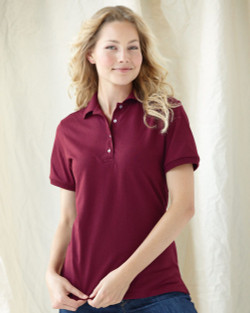 437W JERZEES Ladies' SpotShield Jersey Polo