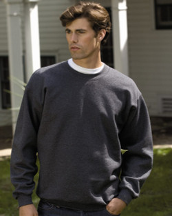 F260 HANES ADULT ULTIMATE COTTON CREW SWEATSHIRT