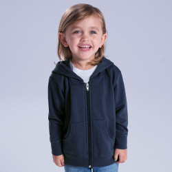 3346 Rabbit Skins Toddler Fleece Zip Hoodie
