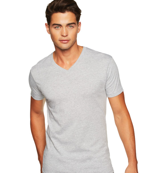 3200 Next Level Apparel Adult Fitted V-Neck Tee