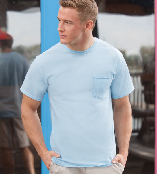 Comfort Colors 6030 - Adult Ring-Spun Cotton Pocket Tee