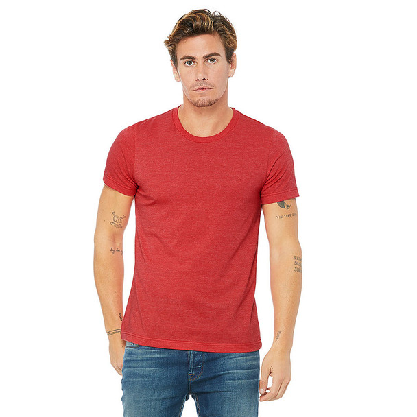3001CVC Bella-Canvas Unisex Heather CVC Short Sleeve Tee