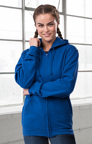JHA050 All We Do Is, College full zip hooded Zoodie