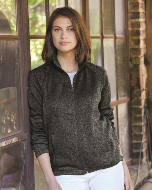 Weatherproof - Women's Vintage Sweaterfleece Full-Zip Sweatshirt - W198013