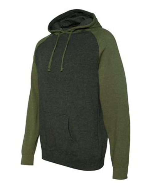 IND40RP - Charcoal Heather/Army Heather