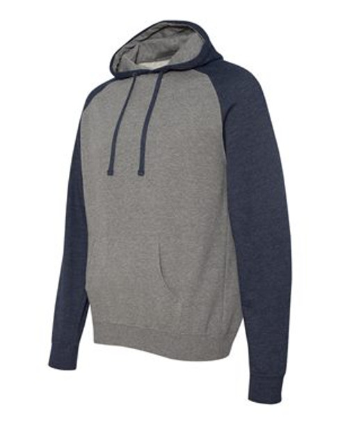IND40RP - Gunmetal Heather/Classic Navy Heather