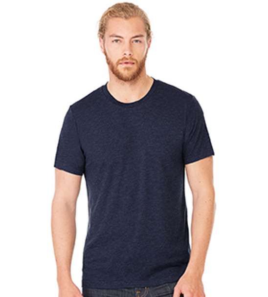 3413 - Solid Navy TriBlend