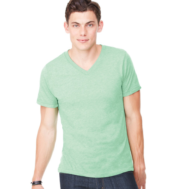 3415 Bella + Canvas TriBlend Short Sleeve V-Neck Tee
