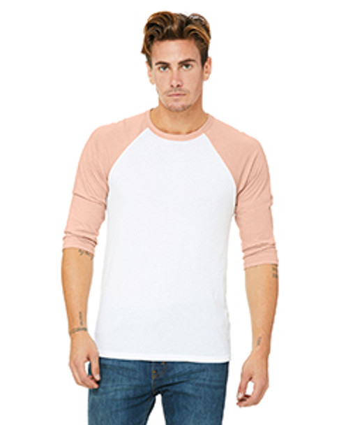3200 - White/Heather Peach