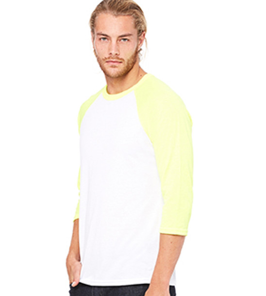3200 - White/Neon Yellow