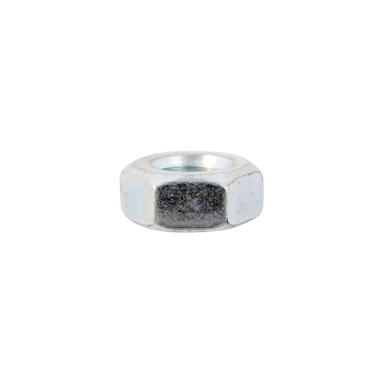1O PACK HEX FULL NUTS BZP M10