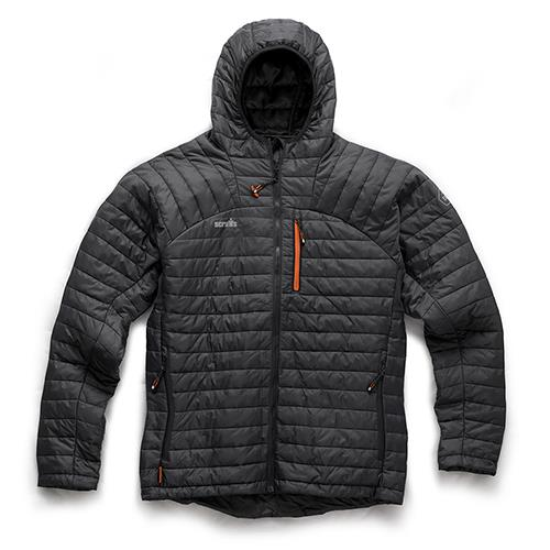 EXPEDITION THERMO HOODED JACKET GRAPHITE