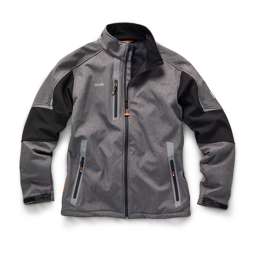 Pro Softshell Jacket Charcoal