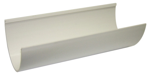 Hi-Cap 115mm White 4M Gutter