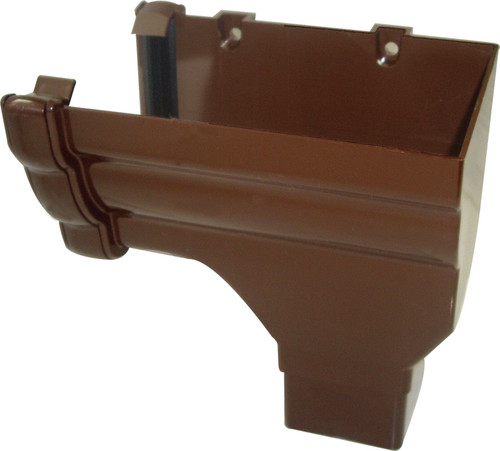 Stopend Outlets - 65mm Square Brown