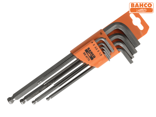 Bahco Hexagon Key Set of 9 (1.5-10mm)