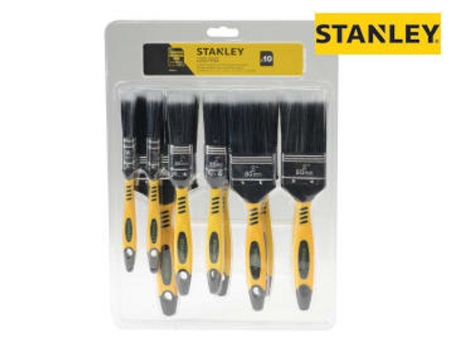 Stanley Loss Free Synthetic Brush Pack 10 Piece