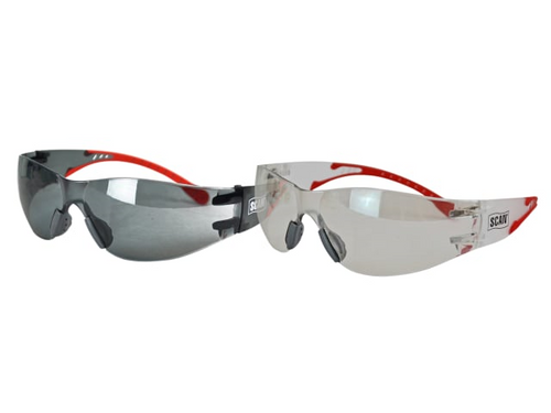 Flexi Safety Glasses (Twin Pack)
