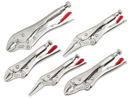 Crescent 5 Piece Locking Plier Set