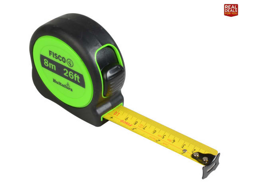 Hi-Vis Tape Measures 8M