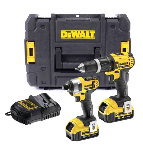 2 Speed Combi + Impact Driver Twin Pack