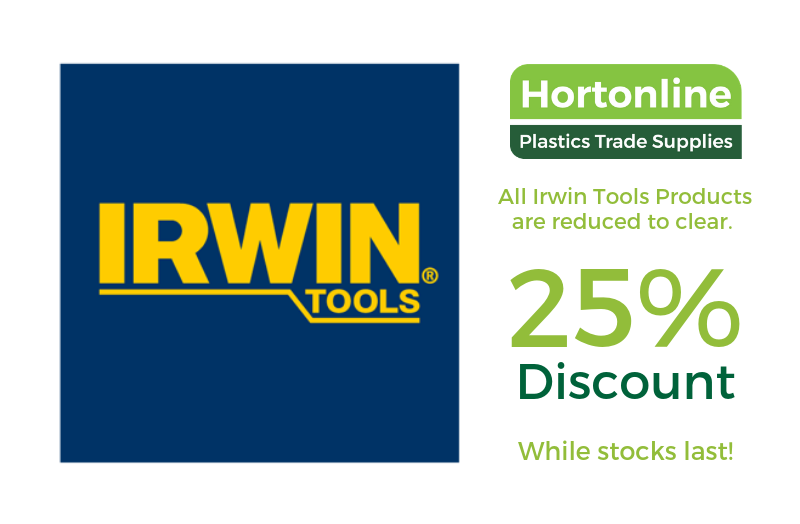 25% off Irwin Tools