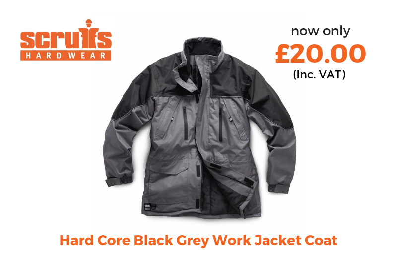 Scruffs hardcore work jacket coat