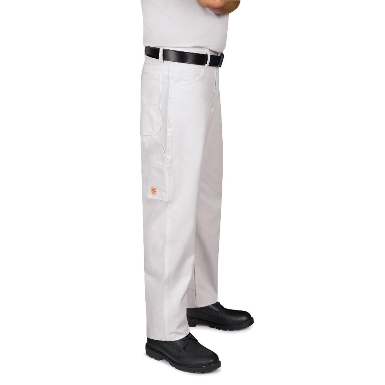 Red Kap Mens Dungaree Painter Pants