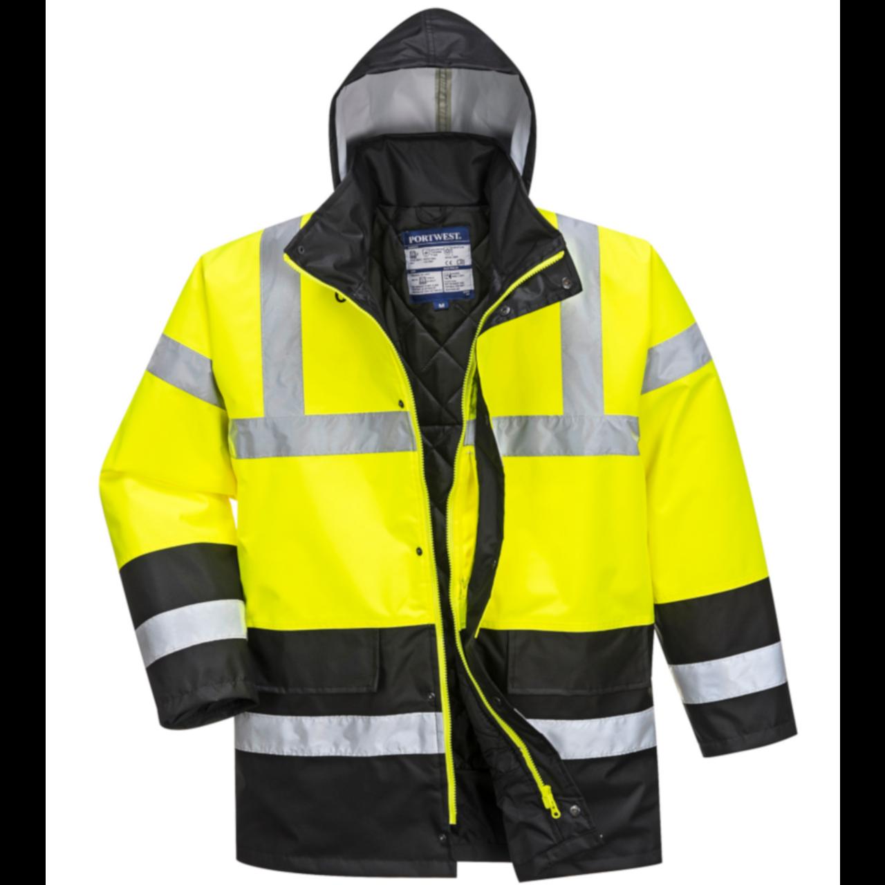 Portwest Workwear Mens Hi-VIS Bomber Jacket