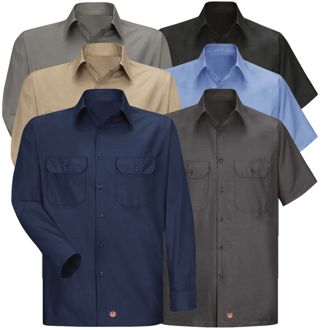 Red Kap Men's Solid Ripstop Shirt - SY60 / SY50