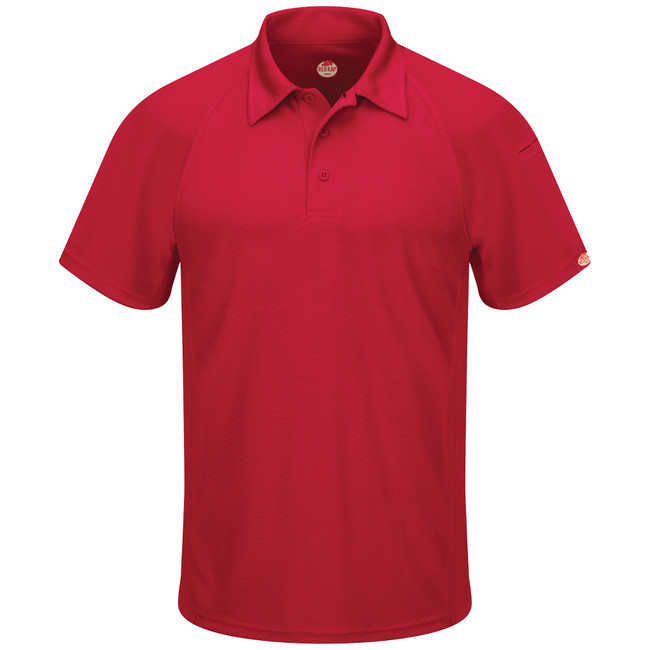 Performance Knit Flex Series Men's Active Polo - SK92RD