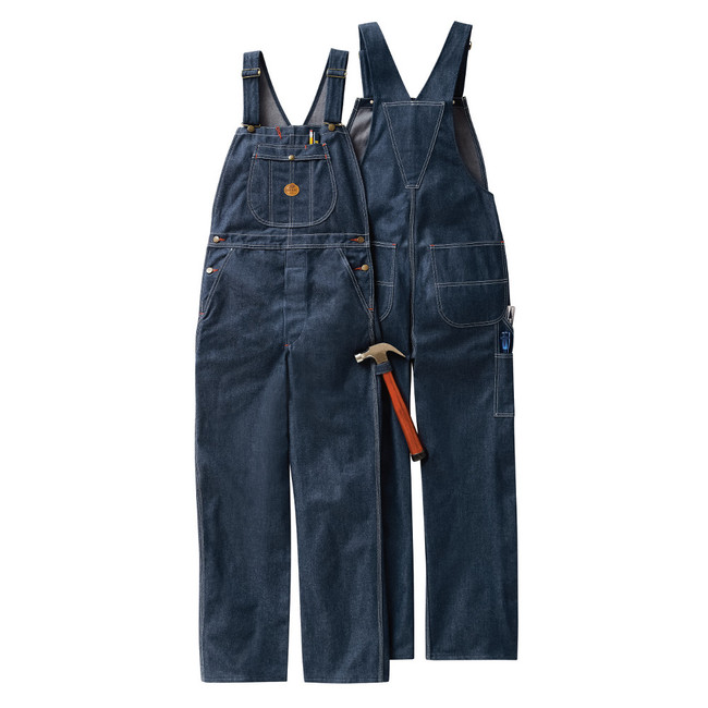 Red Kap Denim Bib Overall - BD10