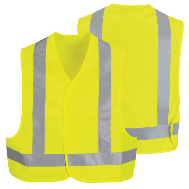 Red Kap Men's Hi-Visibility Safety Vest - VYV6YE