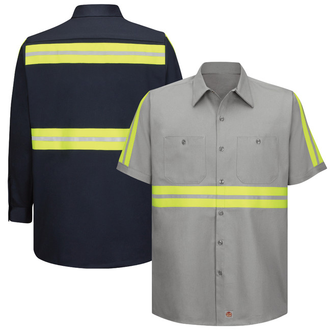Enhanced Visibility Cotton Work Shirt SC40 SC30