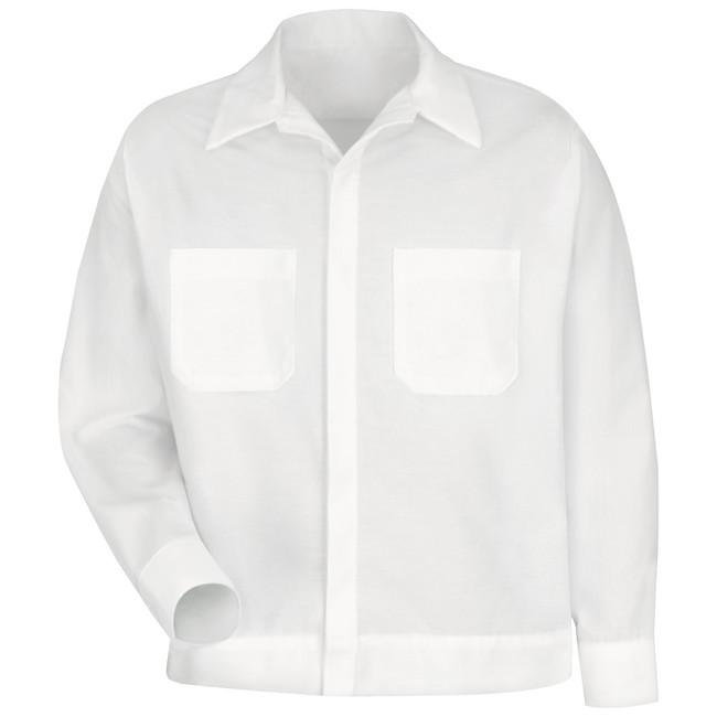 MEN'S BUTTON-FRONT SHIRT JACKET SP35WH CopperstoneWorkwear.com