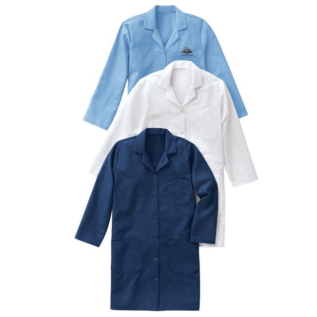 WOMEN'S RED KAP® LAB COAT KP13 KP15 CopperstoneWorkwear.com