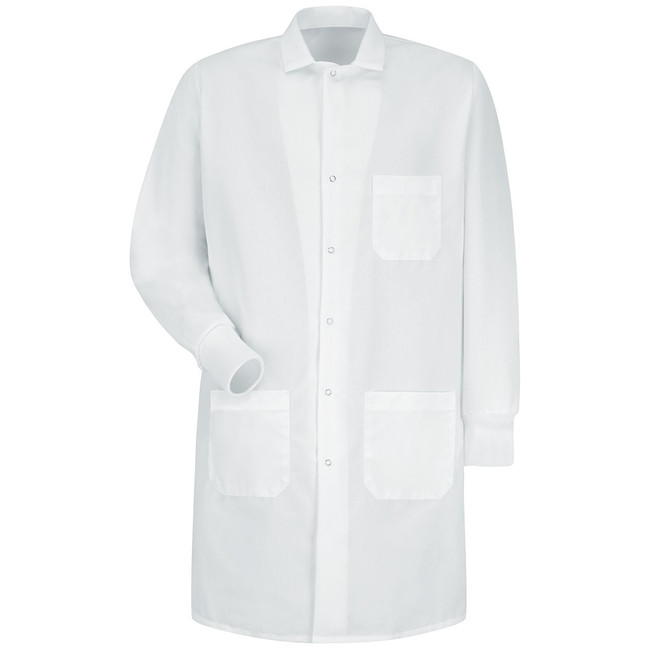 UNISEX SPECIALIZED CUFFED LAB COAT KP70 KP72