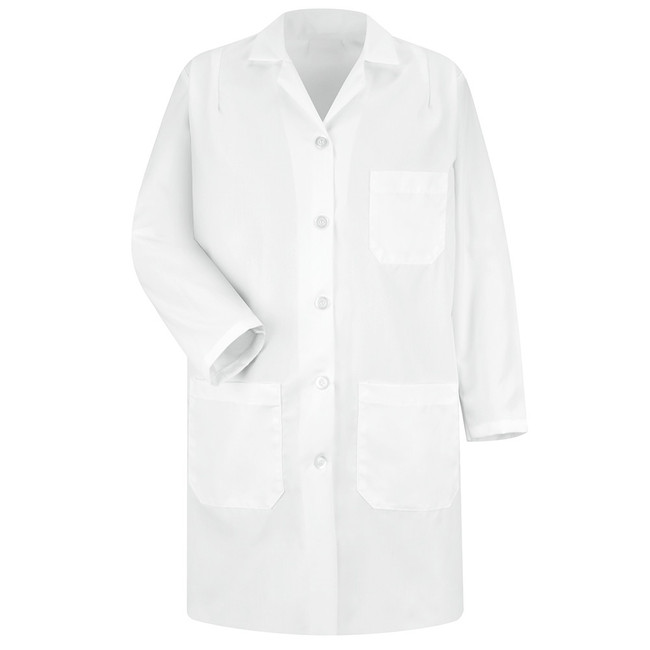 WOMEN'S LAB COAT 5210WH CopperstoneWorkwear.com