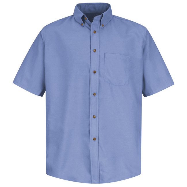 Red Kap Men's Poplin Dress Shirt - SP80LB