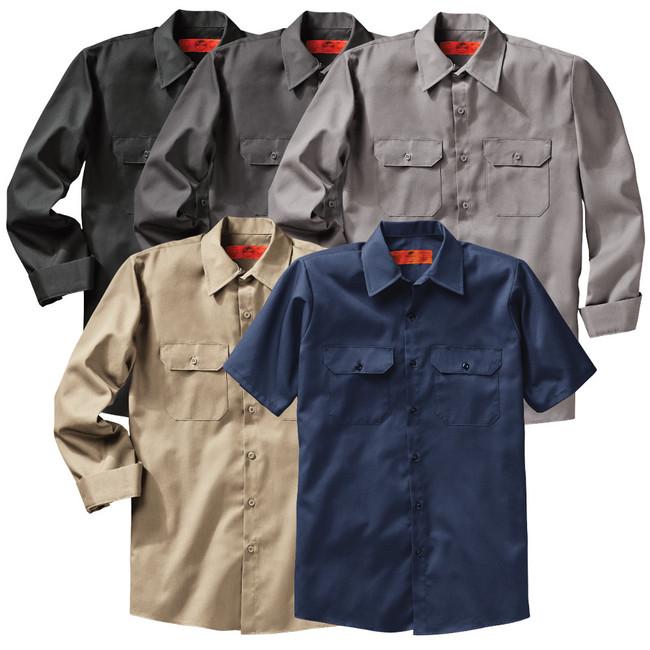 Red Kap Men's Utility Uniform Shirt - ST62 / ST52